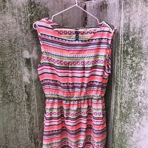 True Rock bright colorful Spring Dress